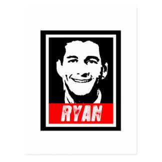 PAUL RYAN 2012 POST CARD