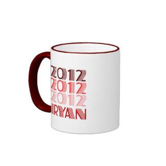 PAUL RYAN 2012 VINTAGE MUGS