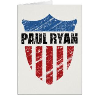 Paul Ryan Greeting Card