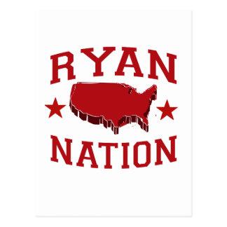 PAUL RYAN NATION POSTCARD