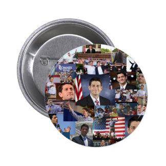 Paul Ryan Republican VP 6 Cm Round Badge