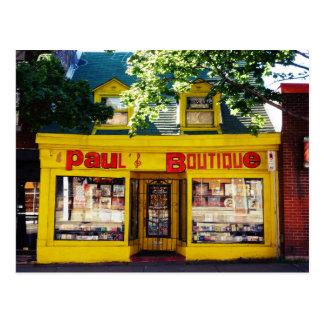 Paul Shop Postcard