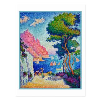 Paul Signac Capo di Noli Postcard