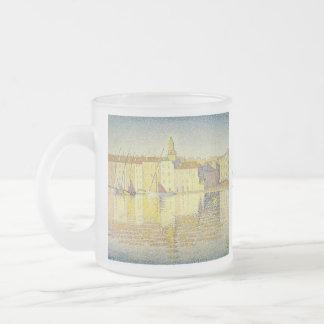 Paul Signac Frosted Glass Mug
