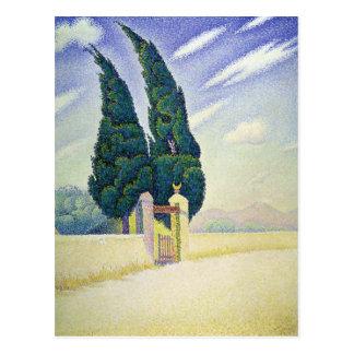 Paul Signac Postcard