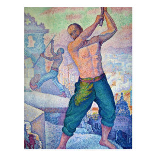 Paul Signac- The Demolisher Postcard