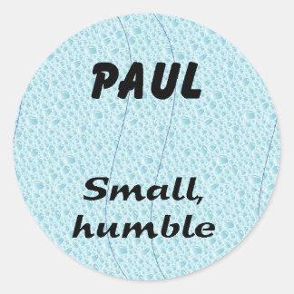 Paul Round Sticker