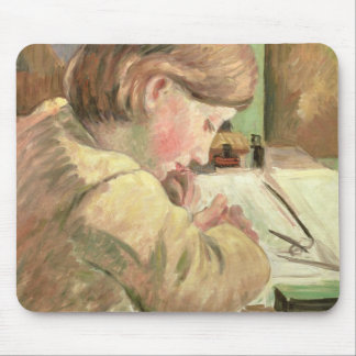 Paul Writing, c.1894 (oil on canvas) Mouse Pad