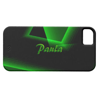 Paula Black and Green iPhone 5 cover