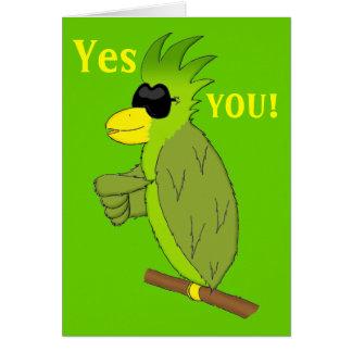 Paulie Greeting Card