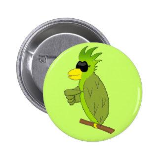 Paulie Pinback Button