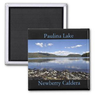Paulina Lake Square Magnet