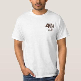 Paul's 40th T-Shirt White