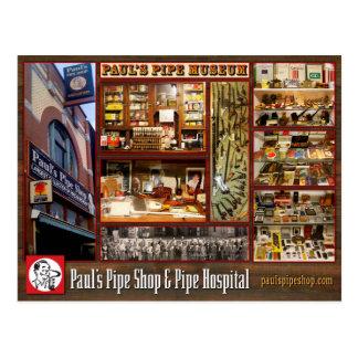 Paul's Pipe Museum Postcard