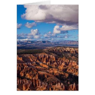 Paunsaugunt Plateau Greeting Card