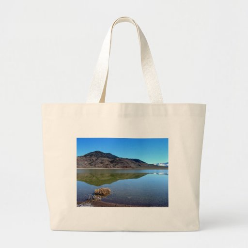Pause To Reflect Canvas Bags