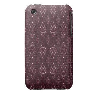 Pave Diamonds Garnet iPhone 3g/3gs Phone Case iPhone 3 Case-Mate Case