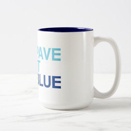PaveItBlue Coffee Mug