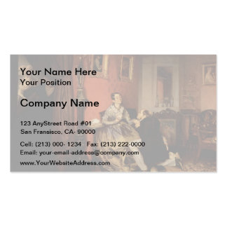 Pavel Fedotov- Difficult Bride Double-Sided Standard Business Cards (Pack Of 100)