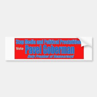 Pavel Goberman Bumper Sticker