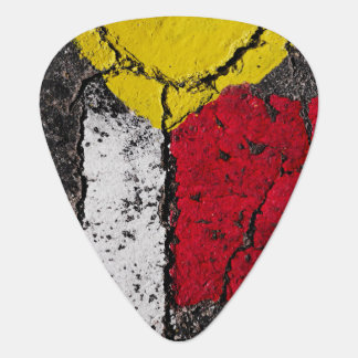 Pavement Road Paint Art - Cool - Fun Plectrum