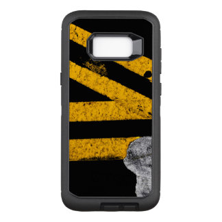 Pavement Road Traffic Marking Lines - Cool - Fun OtterBox Defender Samsung Galaxy S8+ Case