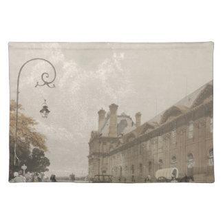 Pavillon de Flore in 1839 Place Mats