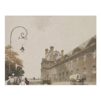 Pavillon de Flore in 1839 Postcard