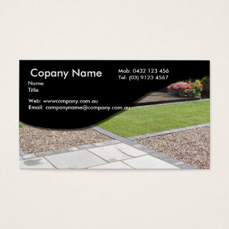 Paving Business Card