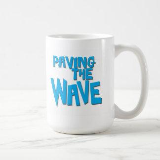 Paving the Wave Surfer Mug