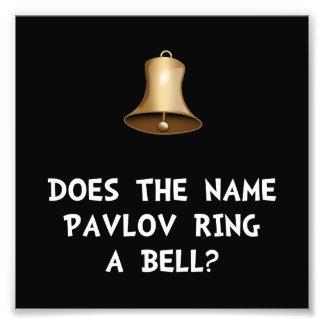 Pavlov Ring Bell Photo Print