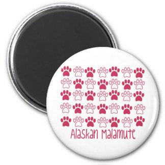 Paw by Paw Alaskan Malamute Magnet