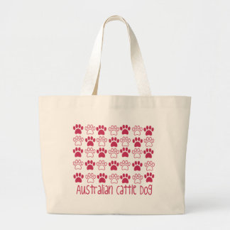 Paw by Paw Australian Cattle Dog Canvas Bags