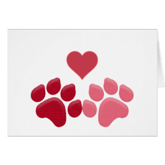Paw-fect Love Card
