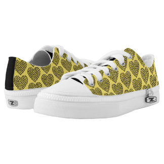 Paw Hearts Low-Top Sneakers / Hearts Made of Paws