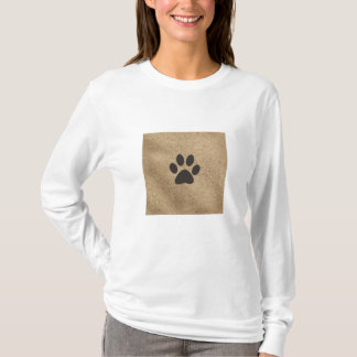Paw in sand Shirt