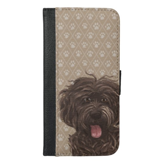 Paw Labradoodle Dog Paintings / Labradoodle Love /