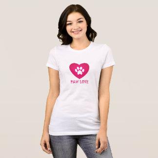 Paw Love Pink T-Shirt