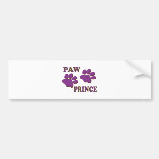 Paw Prince Bumper Stickers