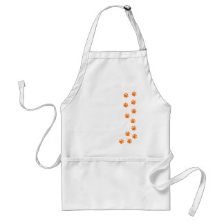 paw print - add your own name or dog breed standard apron