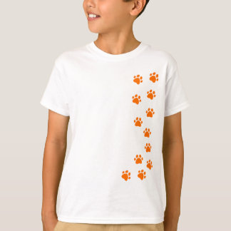 paw print - add your own name or dog breed T-Shirt