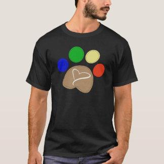 Paw Print Art Gifts T-Shirt