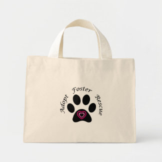 Paw Print Canvas Bags
