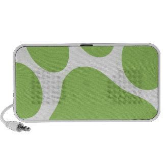 Paw print design mp3 speaker
