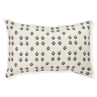 Paw Print Dog Bed