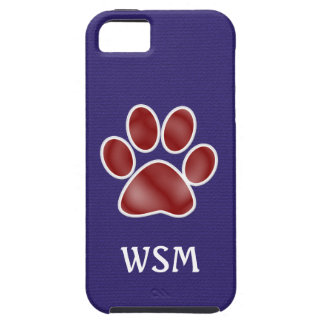 Paw Print -  iPhone5 Case
