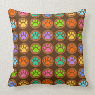 Paw Print Pattern Cushion
