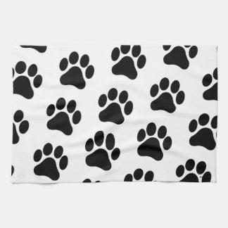 Paw Print Pattern Hand Towel