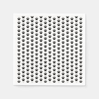 Paw Print Pattern Napkins Disposable Napkin