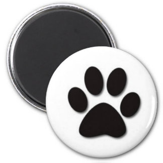 Paw print products magnet